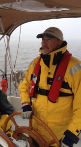 Daniel at the helm