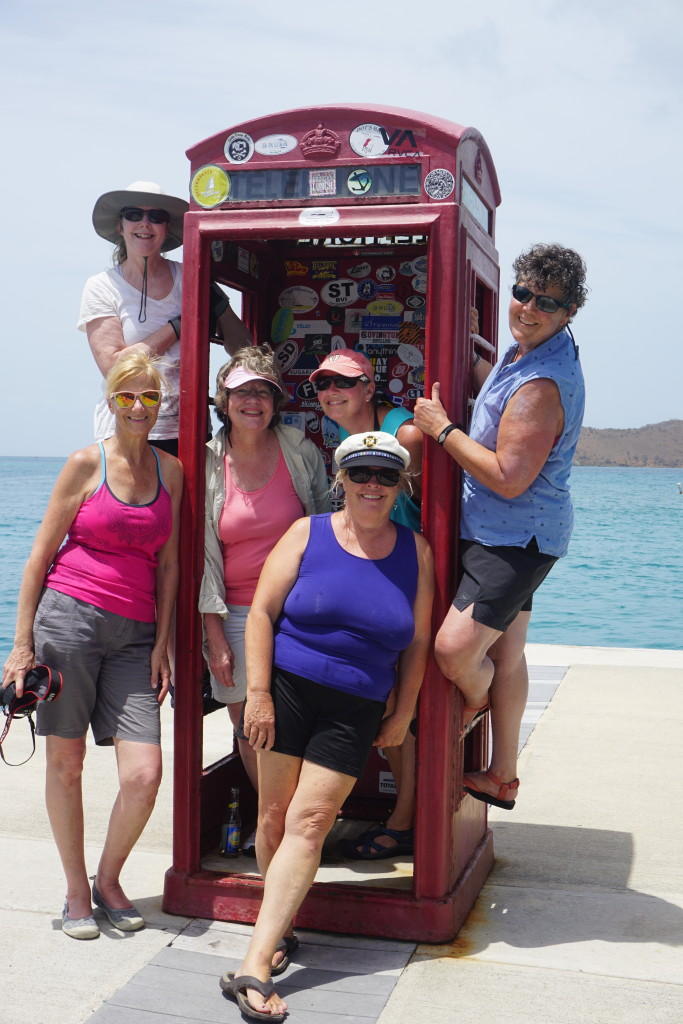 Phone Booth at Leverick Bay