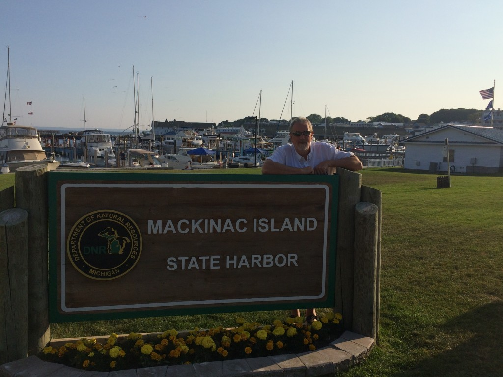 Dan at Mackinac