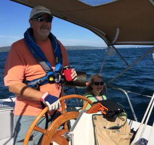 September 27 Beautiful sailing day near the South Channel-Apostle Islands