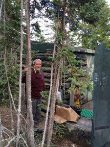 September 1 The hidden sauna