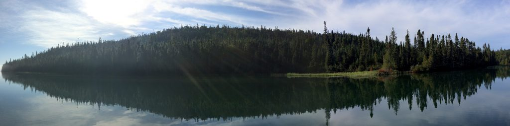 September 2 Panorama of Loon Harbour