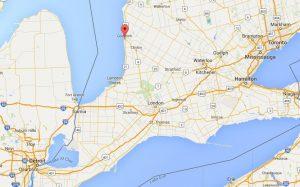 Goderich, Ontario - on the shores of Lake Huron