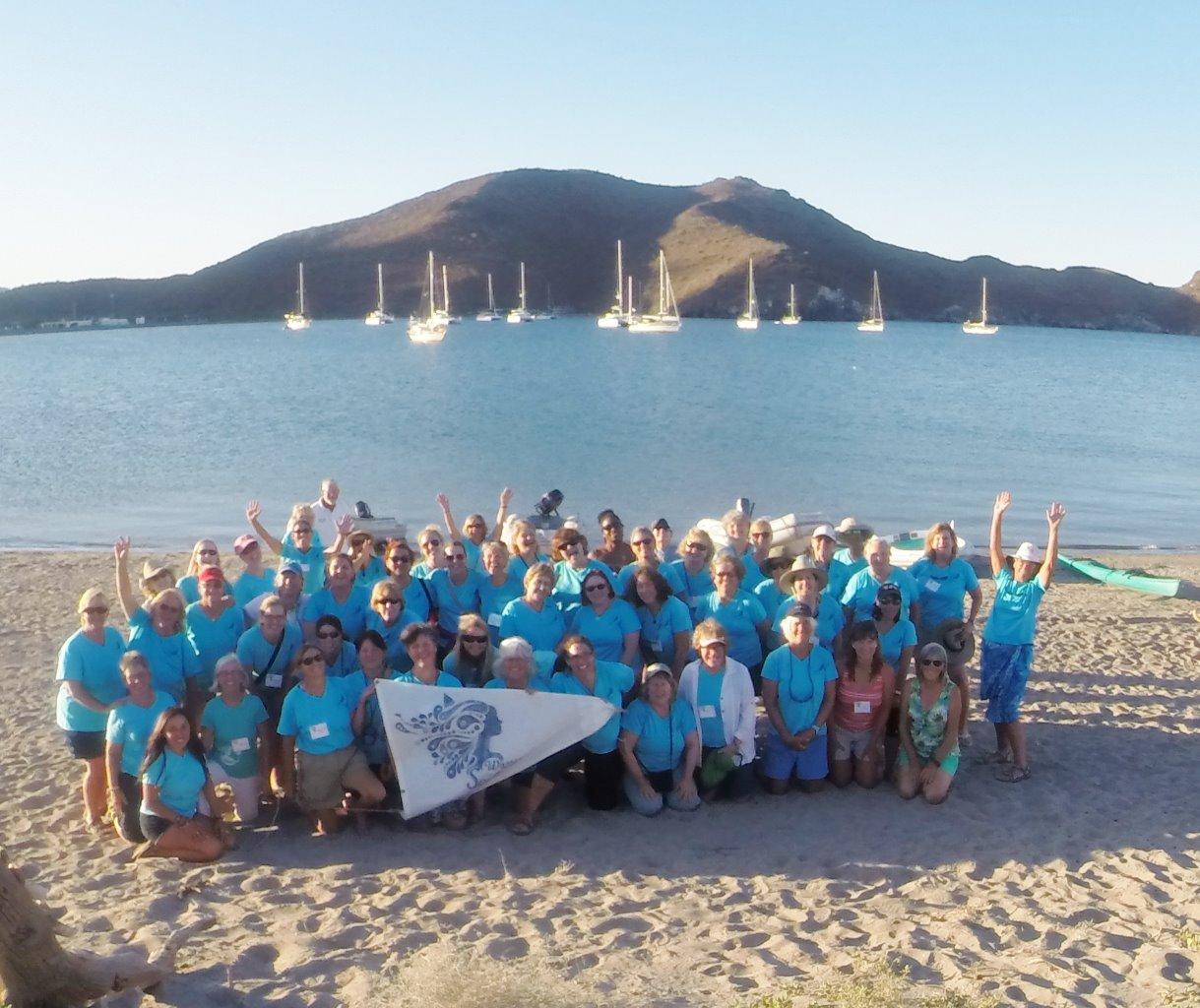 April 21 Women Who Sail - Sea of Cortez Rendezvous at San Evaristo
