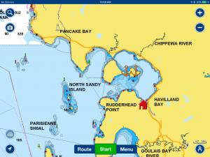 Batchawana Bay Map