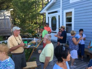 August 16 Happy Hour at Norm and Elaine's in Ray's Bay