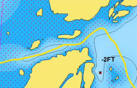 North Channel of Lake Huron – The Benjamin Cut