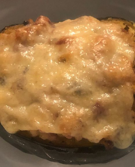 Twice-baked Winter Squash